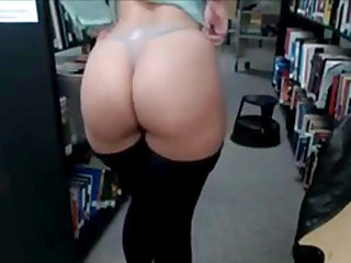 Caught Masturbating In Library