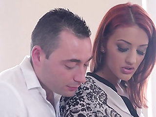 Aylin Diamond is the kind of redheaded cougar who can walk all over a man