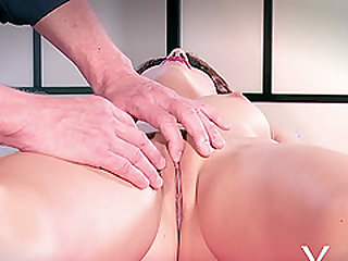 Mystery Girl 2 juicy pussy getting fingered in close up