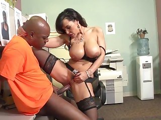 Lisa Ann get fucked by prisoner
