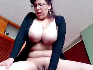Mature strips in her bedroom just for you