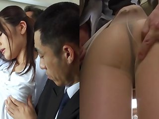 Looks like Yurara can suck the cock in a pretty professional way