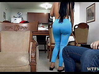 Latina Maid is a Whore