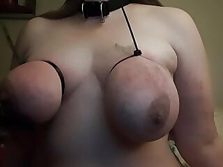 Tied Tits Torture Session