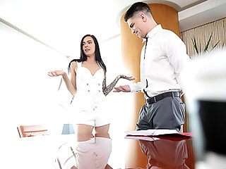 Stepsis Closing The Deal On StepbroТs Cock