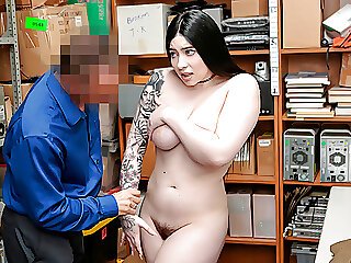ShopLyfter - Busty Thief Gets Punished By The Guard