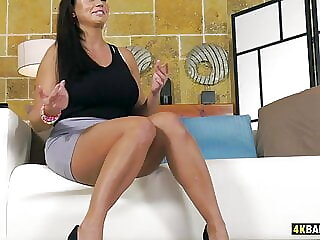 Busty Slovak With Big Clit Getting Assfucked