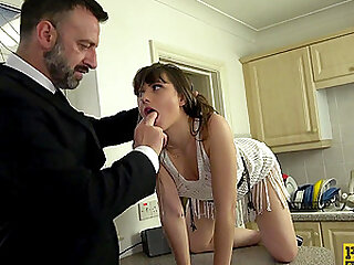 Teen slut Luna Rival pussy fingered and fucked rough and hard