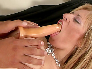 Mom loves to take the dick so I give her what she needs