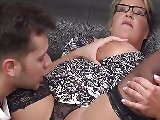 BBW Gets Fucked And Eats Cum
