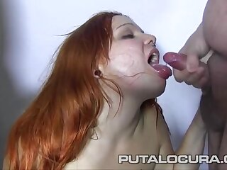 Chubby slut enjoys 24 hot cumshots