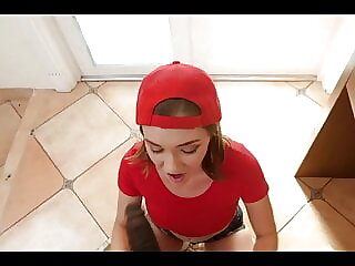 Porn Music Video - Pizza Delivery Girl Gets Paid In Full