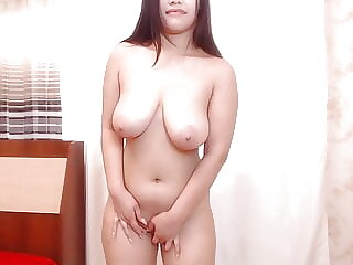 Asian chubby solo webcam