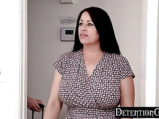 DetentionGirls - Caught Boning Her Step Bro On Camera S1:E10