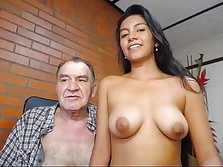 grandpa romul fucks early cam girl