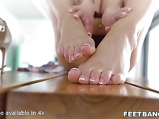 Lick my toes then fuck me hard!
