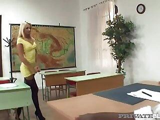PrivateBlack - Ivana Sugar Anal Pounded By Black Teacher!