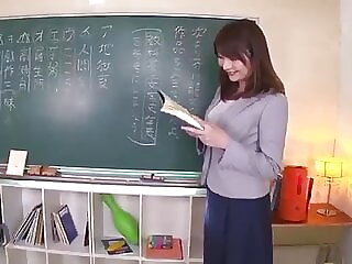 cute teacher show how to lick pussy p04