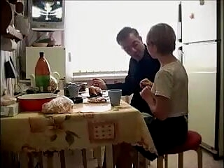 HYE Daughter Gives Dad His Usual Tea Time !