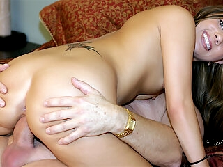 Young girl Autumn Skye old guy fucking