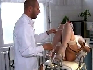 Lucky doctor fuck hot pleasure brunette nurse