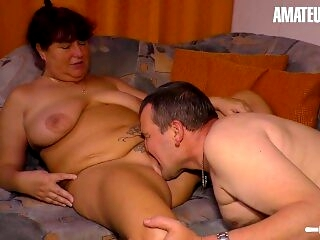 AmateurEuro - Chubby German Wife Fucked By Her Boss While Home Alone