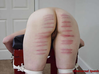 Caned in a Foreign Land - (Spanking)