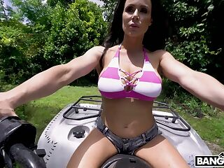 Eye catching busty milf Kendra Lust is fucked hard by hot blooded Sean Lawless