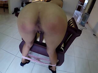 princess fucktoy sucks cock and pretty ass spanked