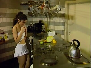 Sibel assfucked in the kitchen