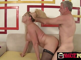 Smut Puppet -  Grandma Cala Craves Doggystyle Compilation 1
