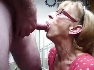 GRANNY LOVES HER SPERM