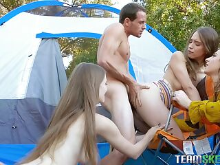 Team Skeet outdoor sex compilation video