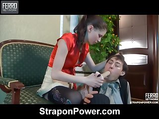 Beatrice&Jack strapon humiliation movie