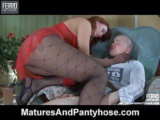 Hardcore Scene With the Redhead Milf Marianne