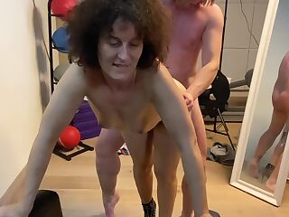 Cuckhold Husband Watches His Milf Get Fucked By A Stranger