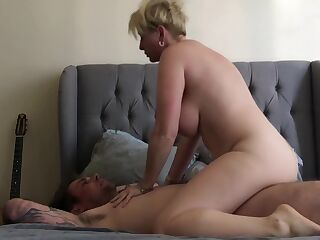 Mature Blonde While Her Husband Is Away