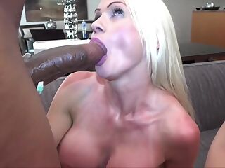 Alessandra Interracial Big Black Cock Orgy With Creampies