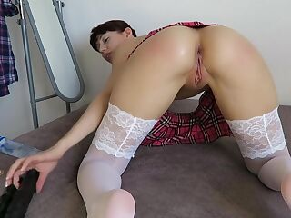 Mylene Doubletriple Anal For Daddy Part 1 in private premium video
