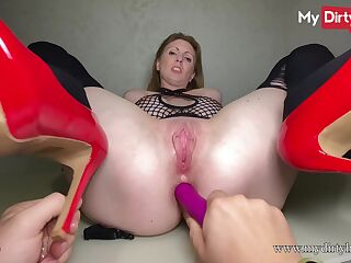 MyDirtyHobby - Busty secretary gets fucked at work by her boss