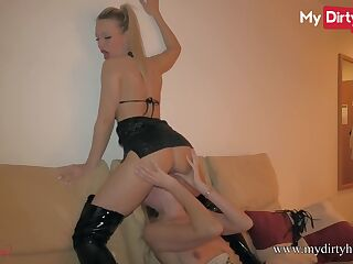 MyDirtyHobby - German amateurs lick and finger each other
