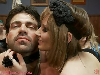 Femdom Fte With Very Submissive Men