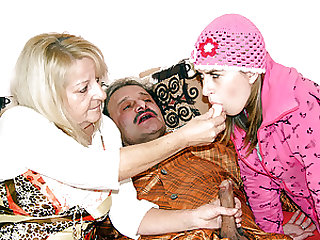 Sick old man shagged to make him feel good