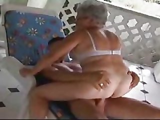 Granny Gets Fucked By A Teen Cock Full Of Energy