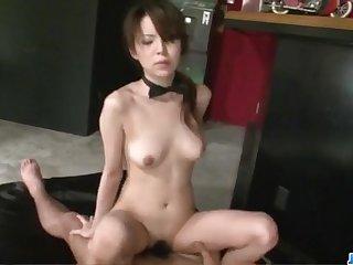 Rino Asuka loves having hands all over her pussy