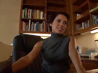 Messy Facial For Sexy Latina Renae Cruz