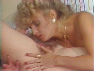 Bonerific Lesbian Babes Eat Their Hairy Pussies - Classic Porn