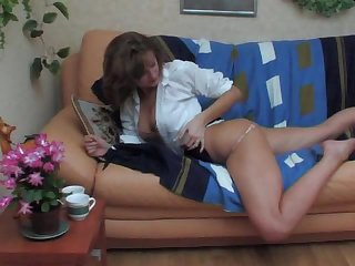 Sexy Mature Fucked in Her Sleep Wakes Up With a Load On Her Ass