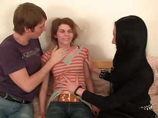 Teen Threesome Humiliation
