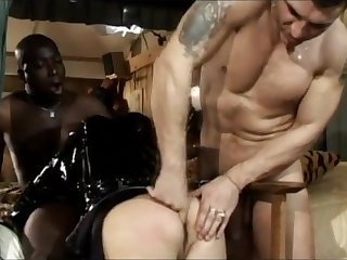 Asian Katsuni Goes Anal In BDSM Threesome
